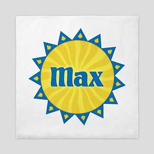 Max Sunburst Queen Duvet