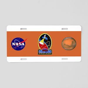 Mars Reconnaissance Orbiter Aluminum License Plate