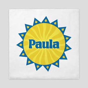 Paula Sunburst Queen Duvet