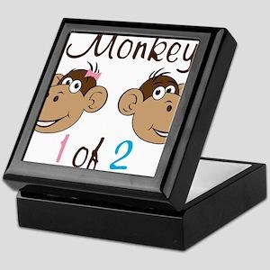 Monkey 1 Keepsake Box
