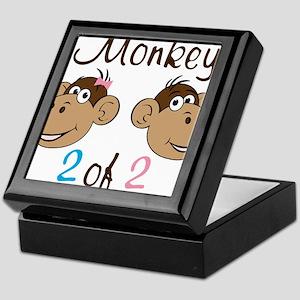 Monkey 2 Keepsake Box