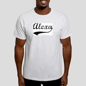 Vintage: Alexa Ash Grey T-Shirt