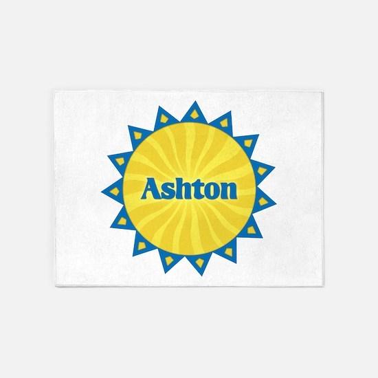 Ashton Sunburst 5'x7' Area Rug
