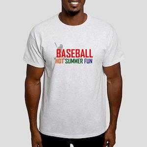 Baseball Hot Summer Fun Light T-Shirt