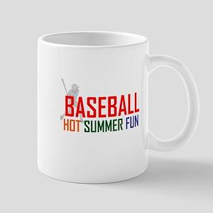 Baseball Hot Summer Fun Mug