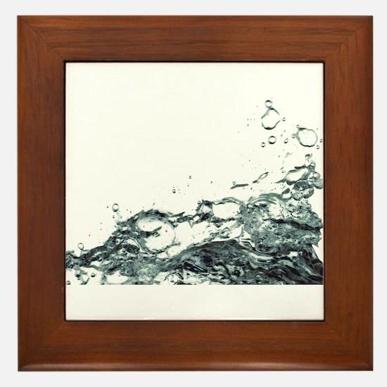 Hallé Splash Framed Tile