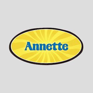 Annette Sunburst Patch