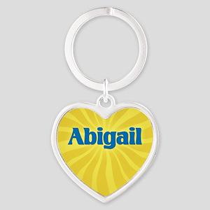 Abigail Sunburst Heart Keychain