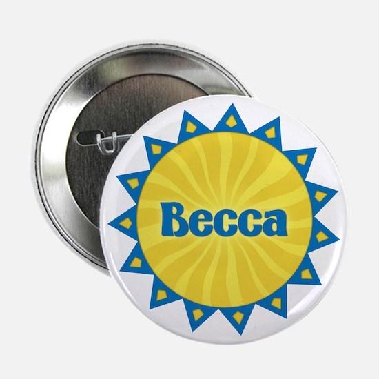 Becca Sunburst Button