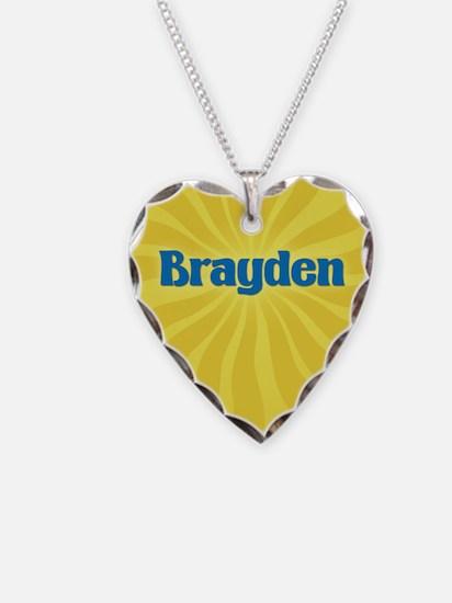 Brayden Sunburst Necklace
