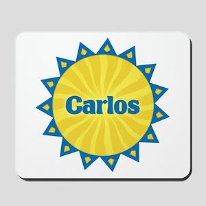 Carlos Sunburst Mousepad