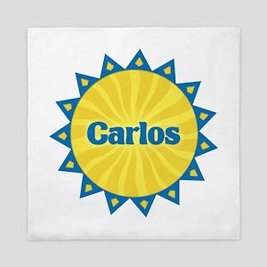 Carlos Sunburst Queen Duvet
