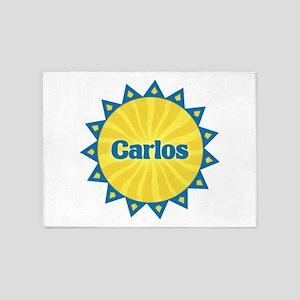 Carlos Sunburst 5'x7' Area Rug