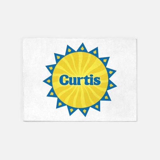 Curtis Sunburst 5'x7' Area Rug