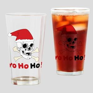 Yo Ho Ho Drinking Glass