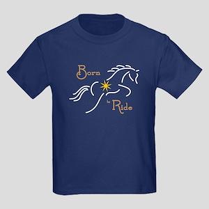 Born to Ride - Kids Dark T-Shirt