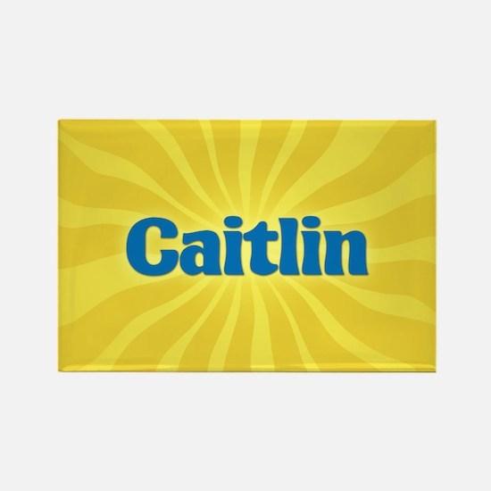Caitlin Sunburst Rectangle Magnet
