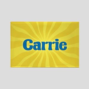 Carrie Sunburst Rectangle Magnet