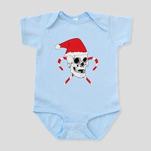 Santa Skull Infant Bodysuit