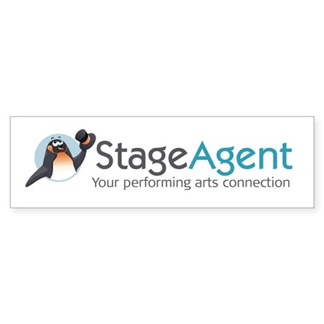 stageagent-12x12-logo Sticker (Bumper)