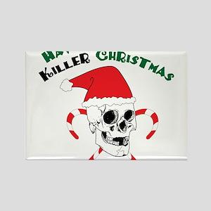 Killer Christmas Rectangle Magnet