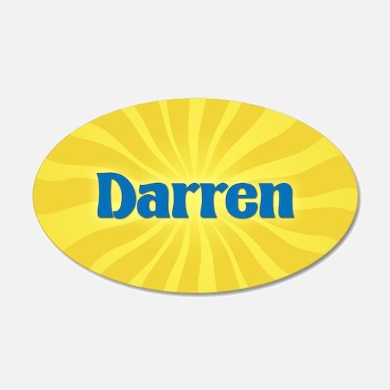 Darren Sunburst Wall Decal
