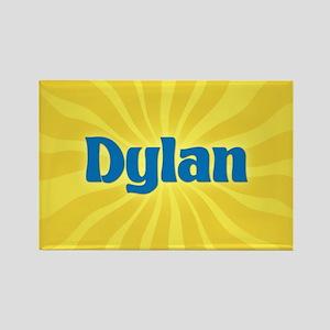 Dylan Sunburst Rectangle Magnet