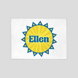 Ellen Sunburst 5'x7' Area Rug