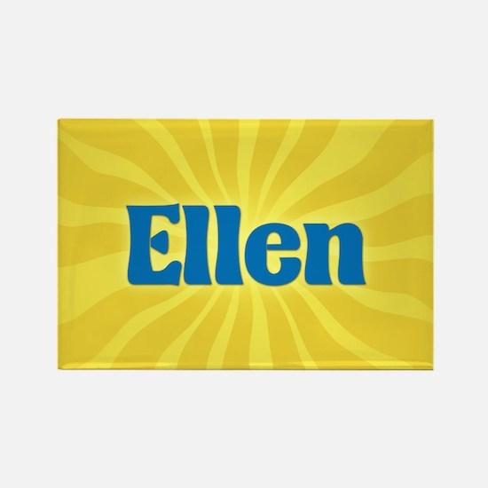 Ellen Sunburst Rectangle Magnet