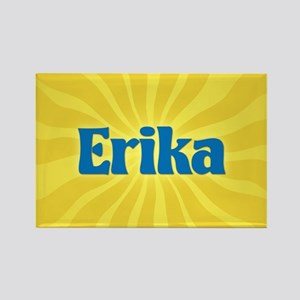 Erika Sunburst Rectangle Magnet