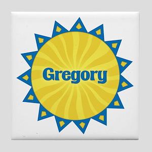 Gregory Sunburst Tile Coaster