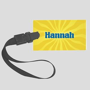 Hannah Sunburst Large Luggage Tag