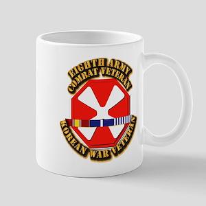 Army - 8th Army w Korean Svc Mug