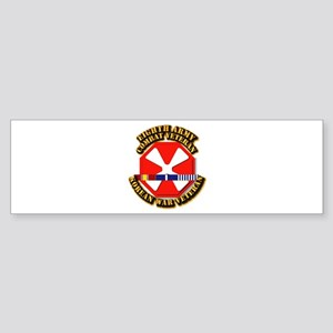 Army - 8th Army w Korean Svc Sticker (Bumper)