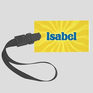Isabel Sunburst Large Luggage Tag