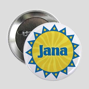 Jana Sunburst Button