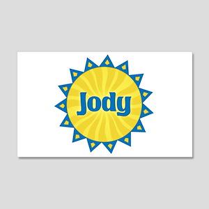 Jody Sunburst 22x14 Wall Peel