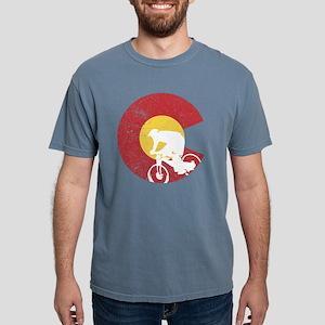 Mountain Bike Colorado Mens Comfort Colors Shirt