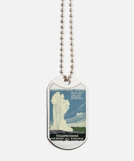 Yellowstone National Park Dog Tags