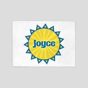 Joyce Sunburst 5'x7' Area Rug
