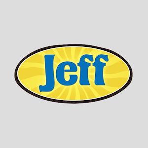 Jeff Sunburst Patch