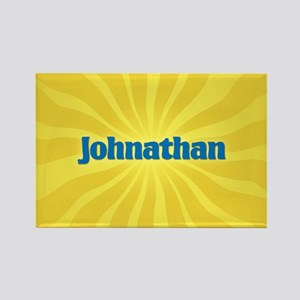 Johnathan Sunburst Rectangle Magnet