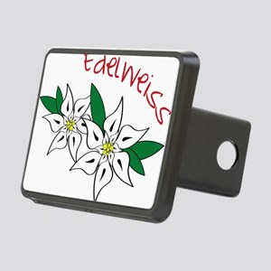 Edelweiss Rectangular Hitch Cover