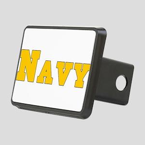 Navy3 Rectangular Hitch Cover