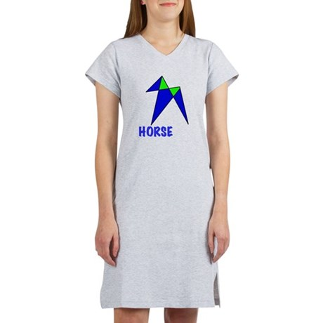 HORSE, abstract, gifts Women's Nightshirt