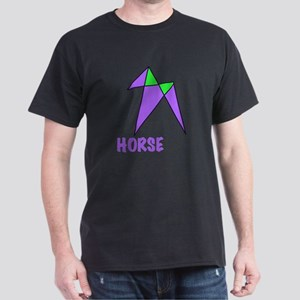 HORSE, abstract, gifts Dark T-Shirt