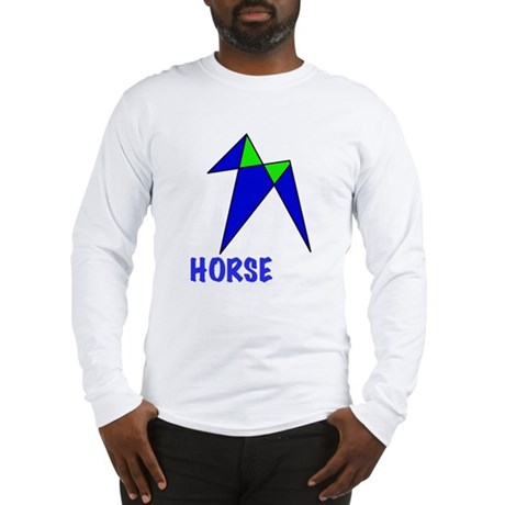 HORSE, abstract, gifts Long Sleeve T-Shirt