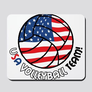 USA Volleyball Team Mousepad