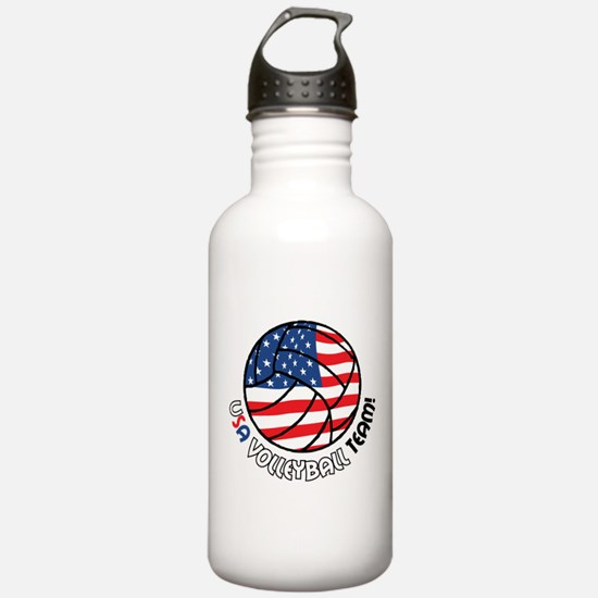 USA Volleyball Team Water Bottle