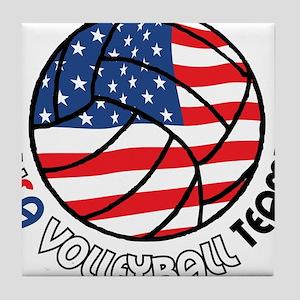 USA Volleyball Team Tile Coaster